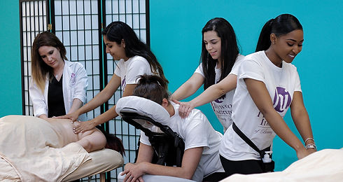 Hollywood Institute Massage Students.jpe