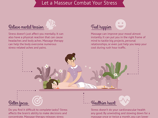 Massage Therapy: Let a Masseur Combat Your Stress