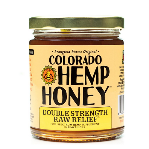 Colorado Double Strength Hemp Honey
