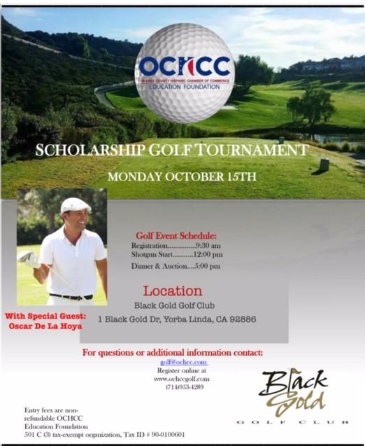 OCHCC Education foundation Scholarship Golf Tournament