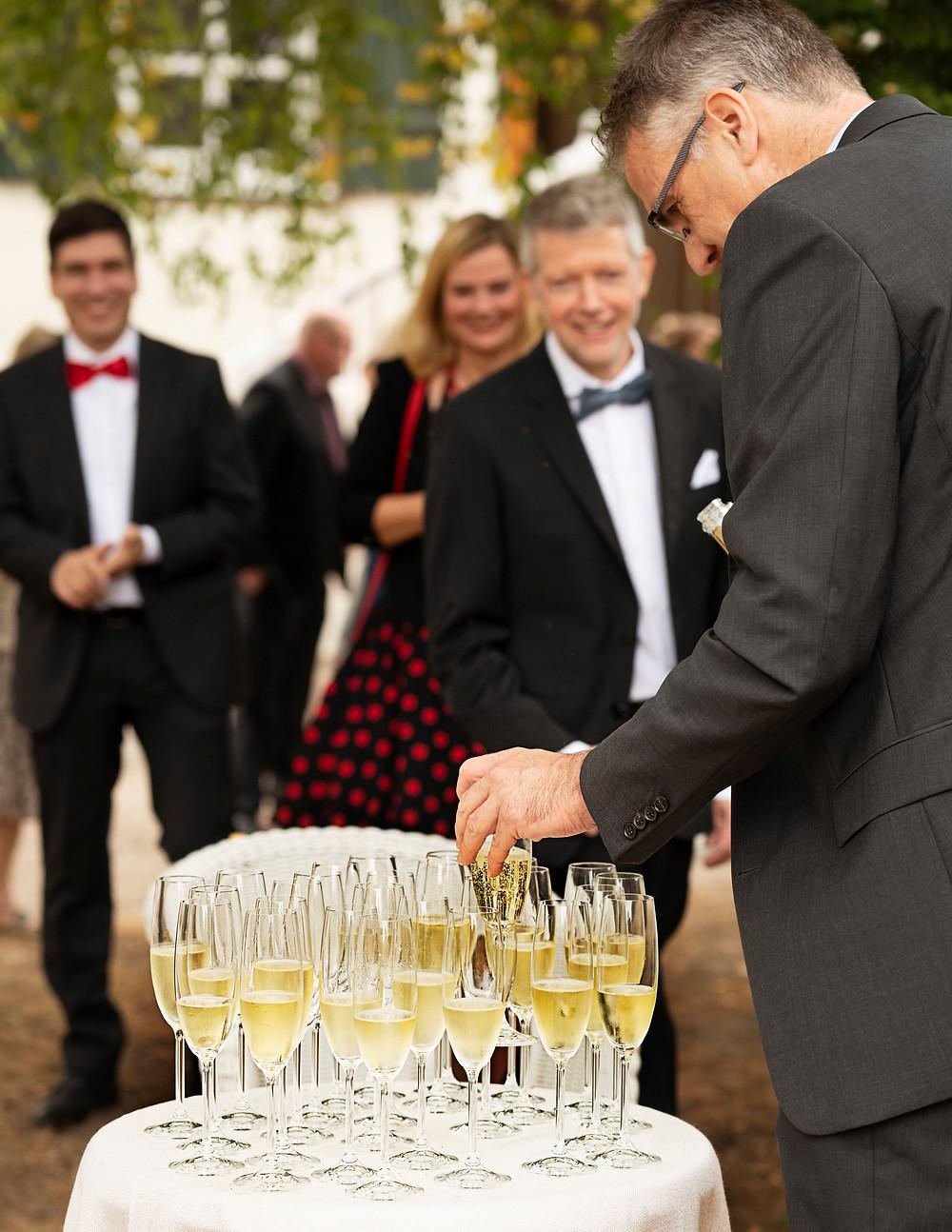パーティにゼクトは欠かせない ©Deutsches Weininstitut