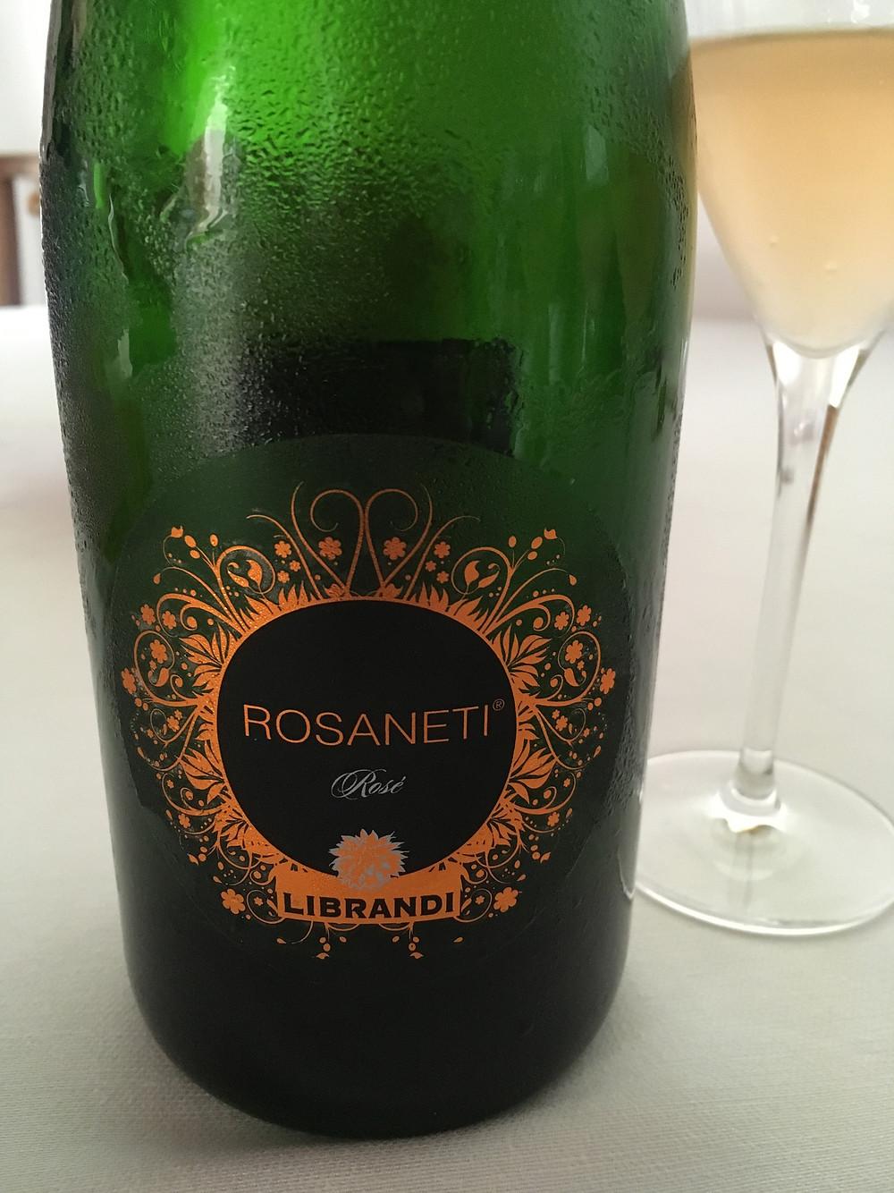 リブランディ社がリリースする、ガリオッポ100%のロゼ・スパークリングワイン