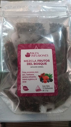 TRINFUSIÓN HERBAL MEZCLA FRUTOS DEL BOSQUE