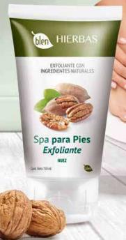 EXFOLIANTE SPA DE PIES