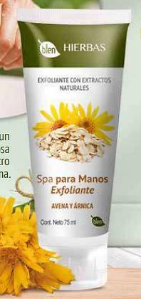 EXFOLIANTE SPA DE MANOS
