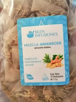 TRINFUSIÓN HERBAL MEZCLA AMANECER