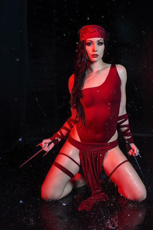 Elektra Cosplay Print
