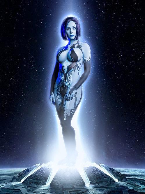 Cortana Cosplay Print