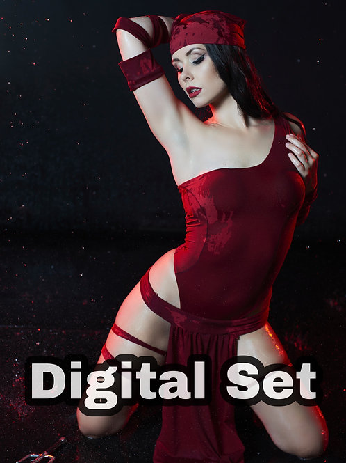 Elektra Cosplay - Digital Set
