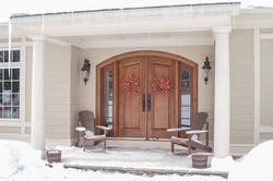 McDonough Residence Door