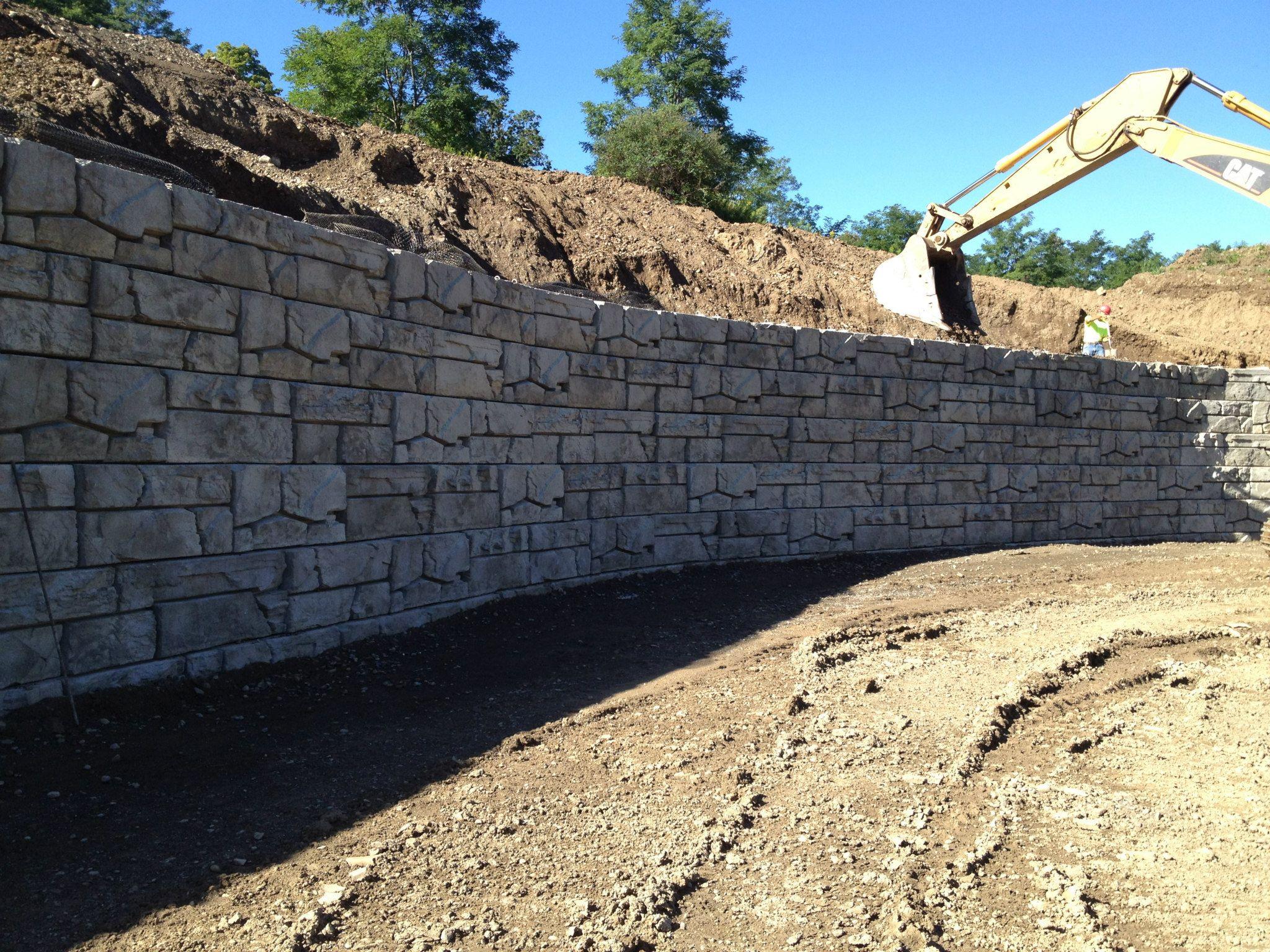 VertiBlock wall