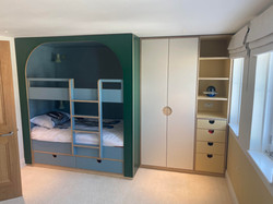 Custom made bed and units