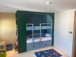 Custom made bed