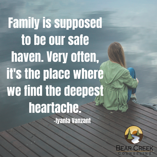 Family is supposed to be our safe haven.