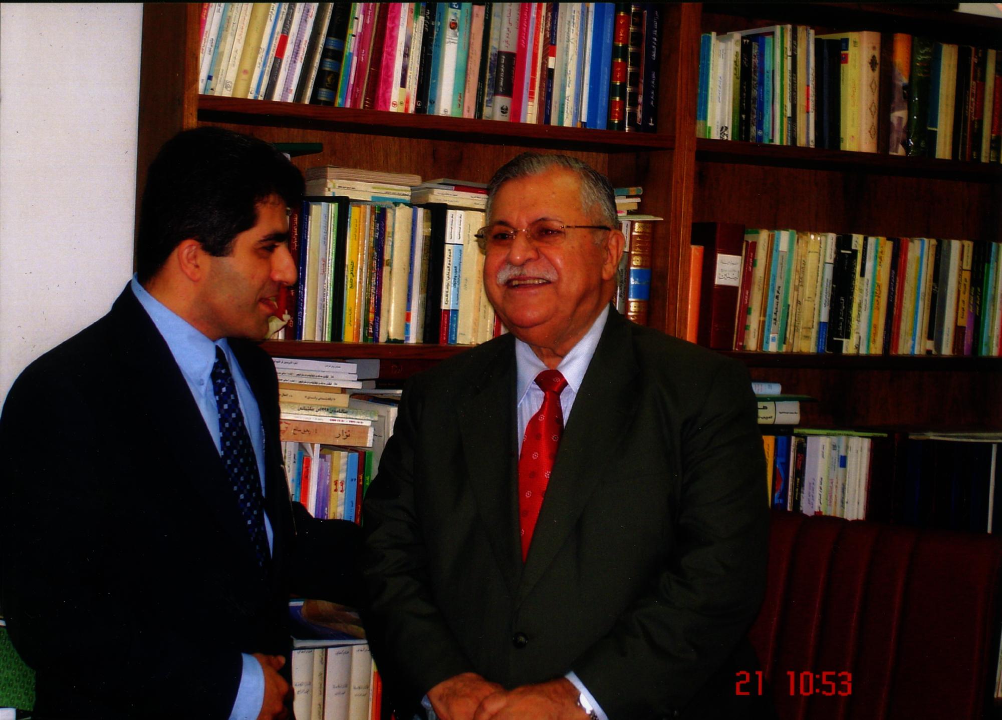 HE Mr. Jalal Talabani
