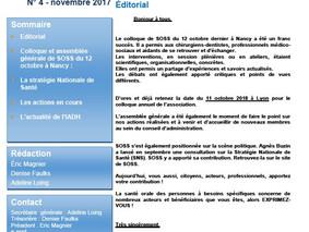 newsletter n°4- novembre 2017