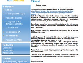 Newsletter n°6-Août 2018