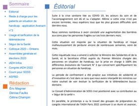 La lettre d'information n°12 est en ligne !