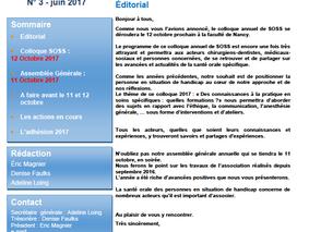newsletter n°3- juin 2017