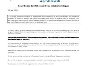 Ségur de la santé contribution de SOSS