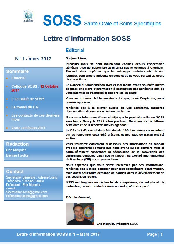 Colloque SOSS