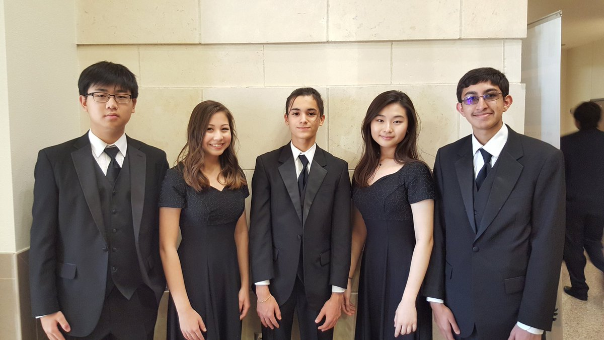 All-Region Orchestra Musicians
