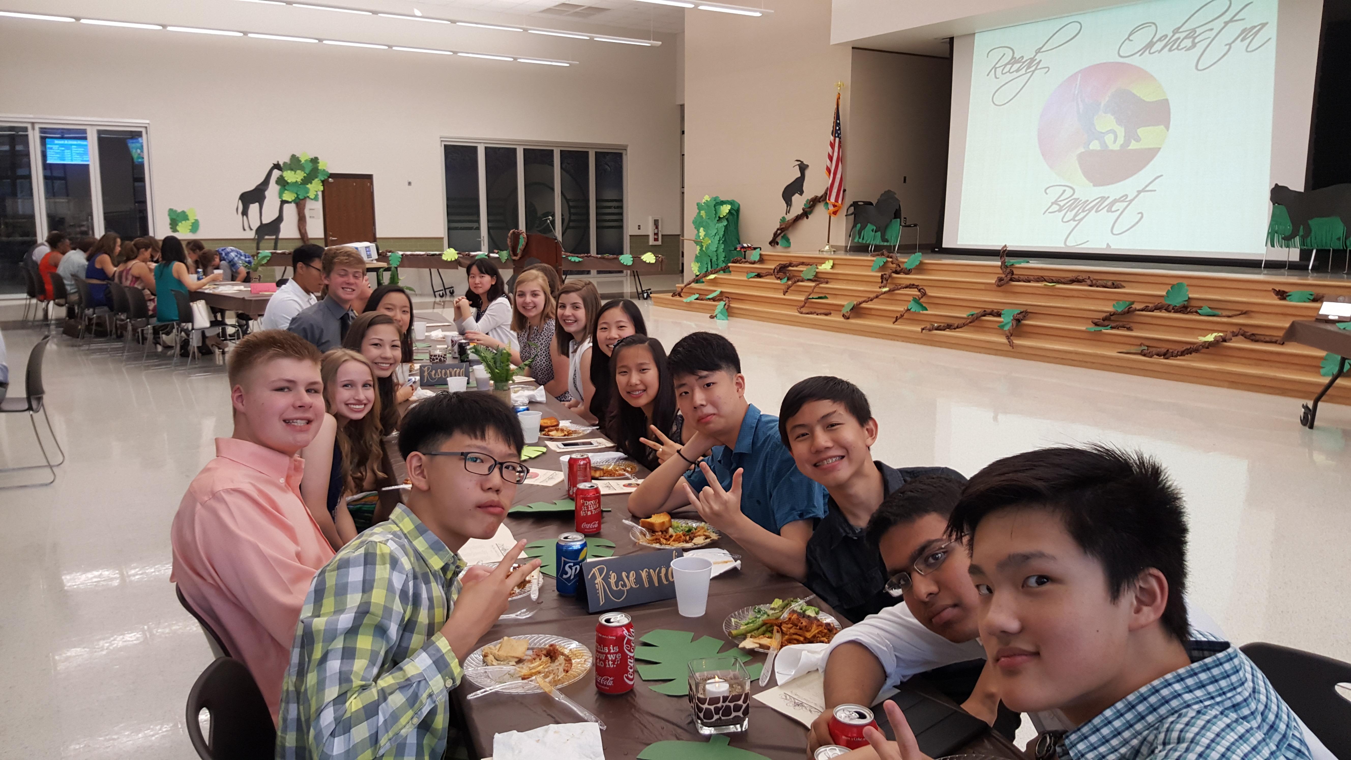 Banquet Students