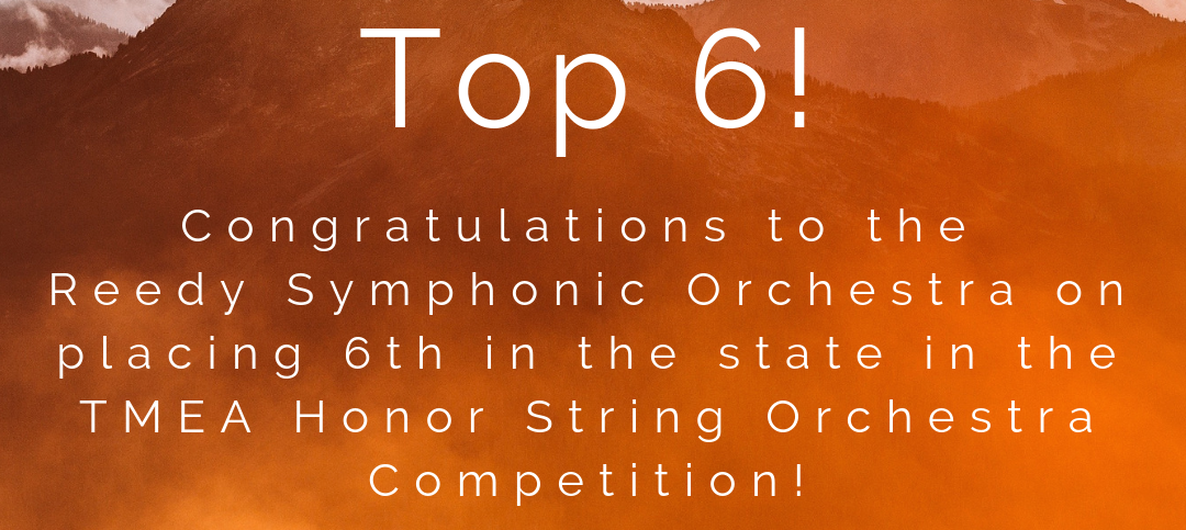 2018 Honor Orchestra Results
