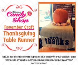 November Craft FB post