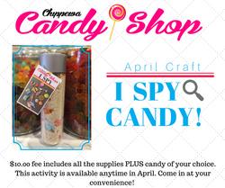 April craft fb post