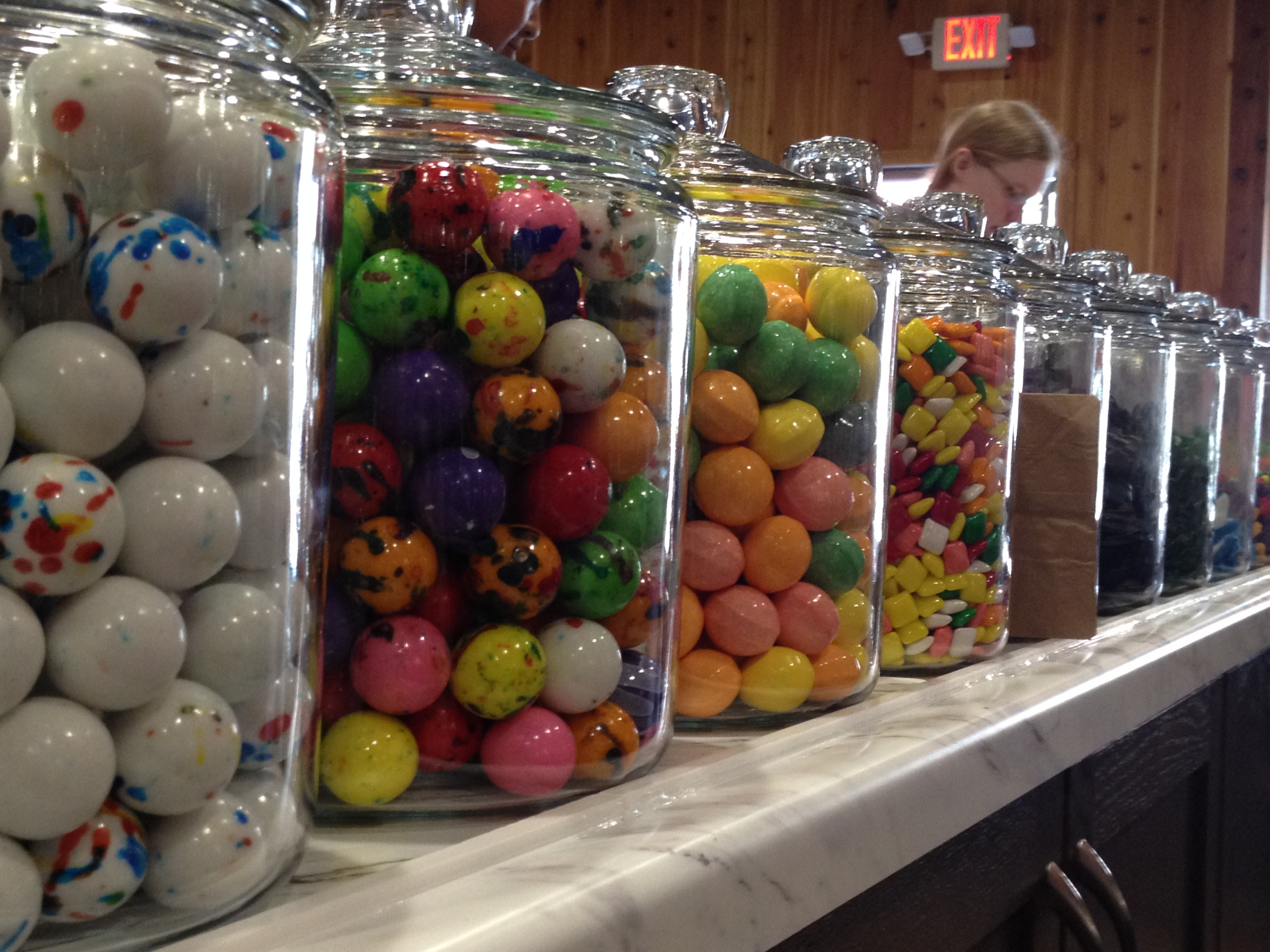 Jars & Jars of Candy Chippewa Candy