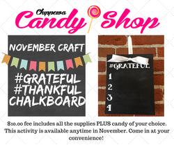 November FB Craft