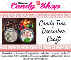 December Craft Craft FB post