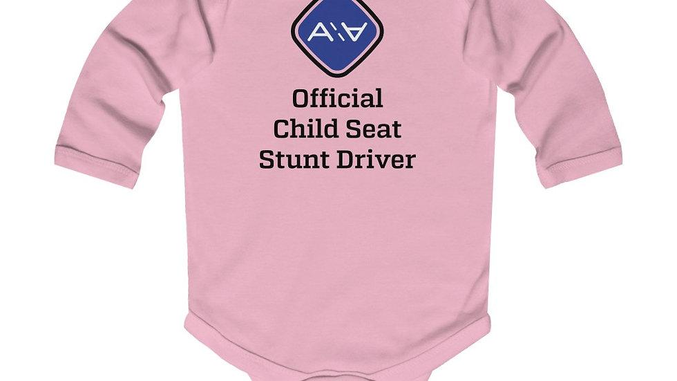 Child Seat Testing Onesie