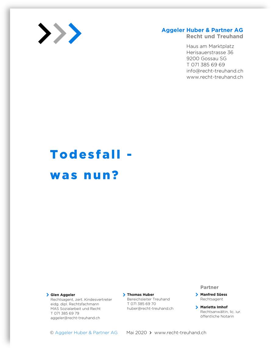TODESFALL - was nun?