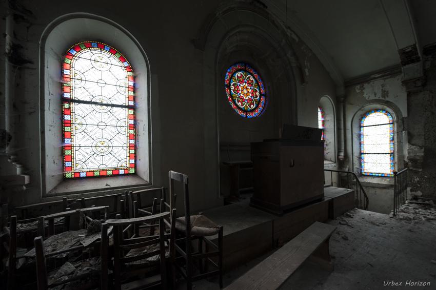 Le Chateau Muët et la Chapelle