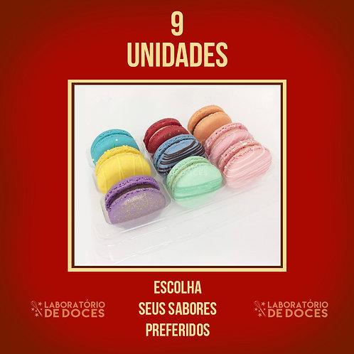 Macarons - 9 unidade