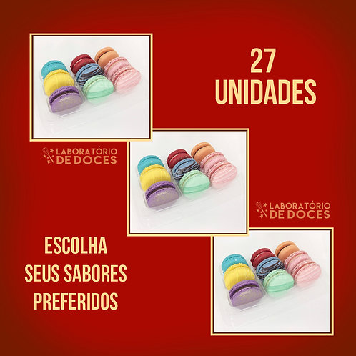 Macarons - 27 unidades