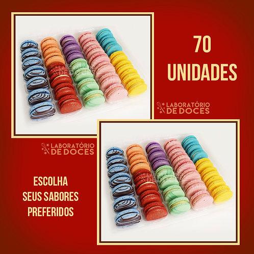 Macarons - 70 unidades