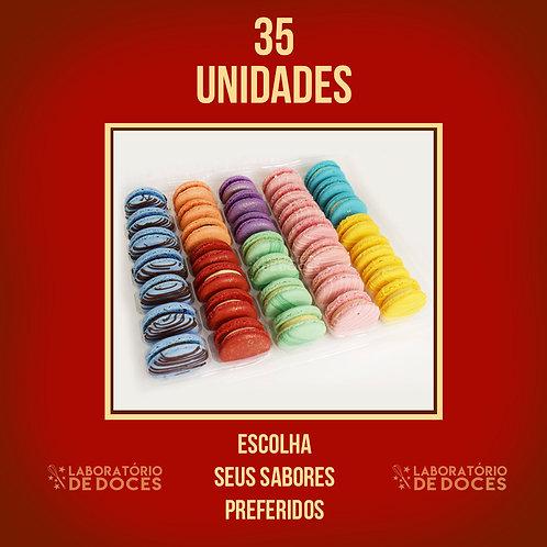 Macarons - 35 unidades