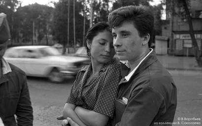 Солдат в увольнении. Новокузнецк 1982
