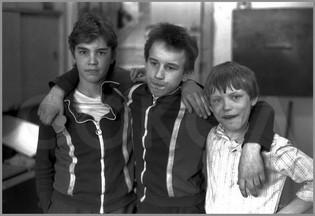 Портрет подрастающих лидеров - Игоря, Валеры, Саши. 18.03.1987