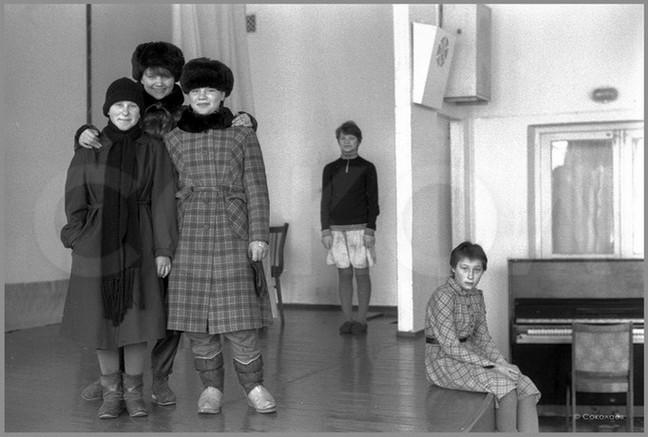 Групповой портрет на сцене. 26.03.1987
