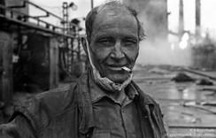 Портрет люкового. Кузнецкий металлургический комбинат. Новокузнецк, 1979