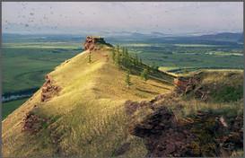 Гора Тарпиг. Долина Белого Июса. Хакасия. 24.07.2005