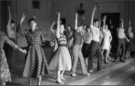Обучение массовым танцам. Дворец алюминщиков. Новокузнецк. 13.04.1983