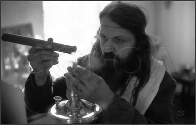 Монах Иов . Община Покровского храма. Ленинск-Кузнецк. 15.10.1987