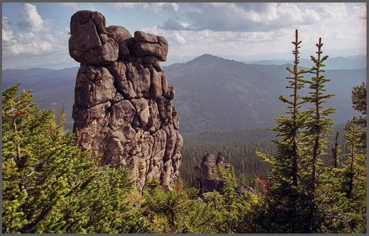 Каменный Городок. Сторожевая Башня. Красноярский край