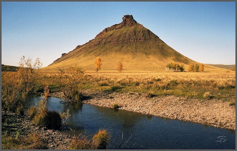 Горная гряда СУНДУКИ. Долина Белого Июса. Хакасия
