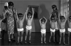 Кварцевание. Детский дом на улице Суворова.  Новокузнецк. 22.01.1981